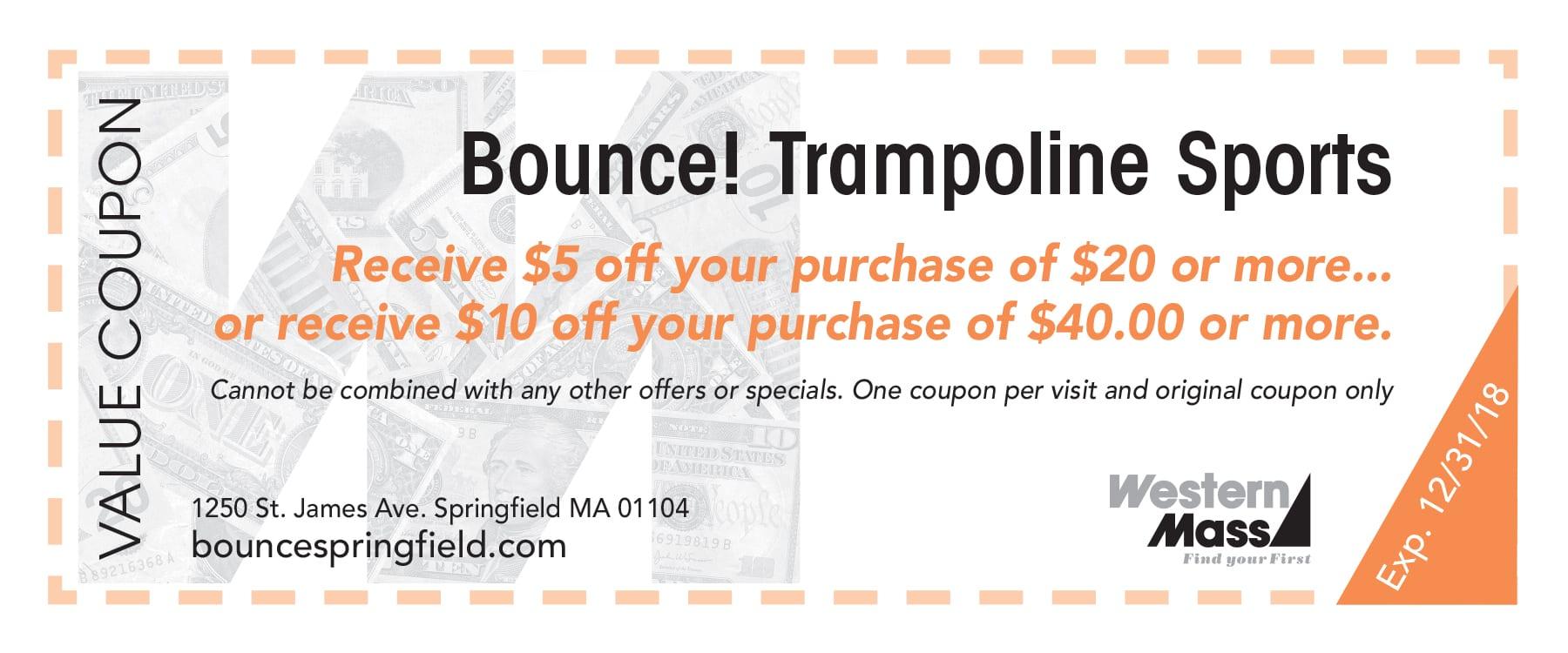Bounce! Trampoline Sports