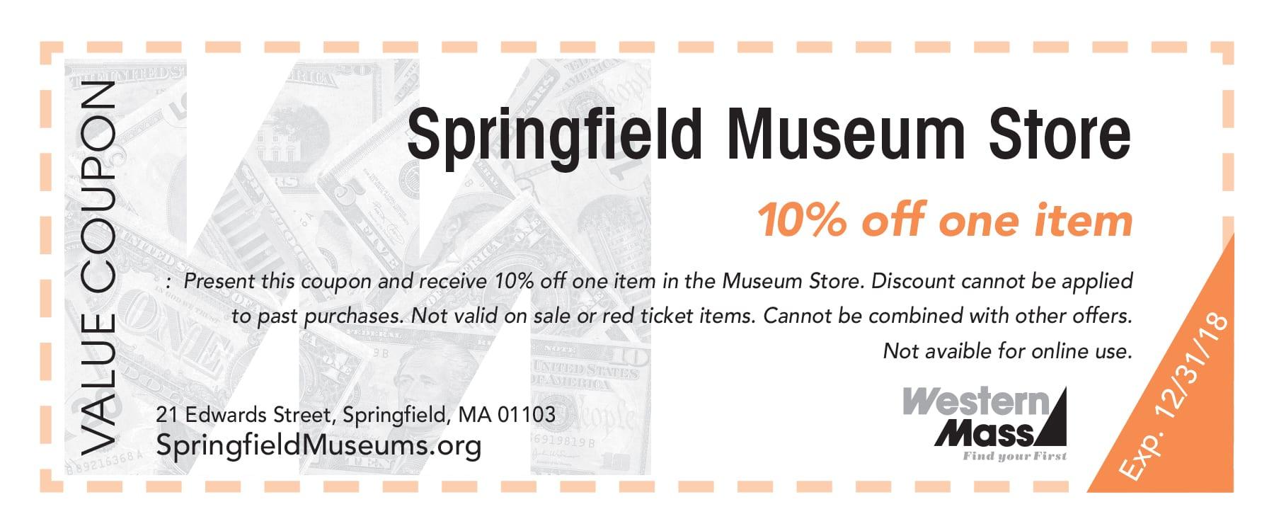 Springfield Museum Store