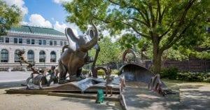 horton court seuss sculpture garden