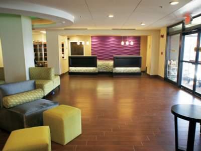 Lobby of Springfield La Quinta