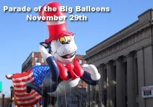 parade of big balloons