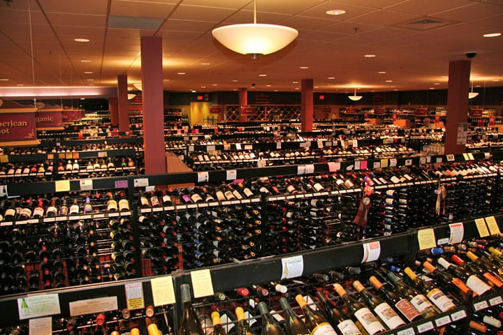 table vine wine dept