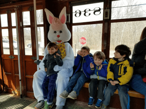 ct trolley easter