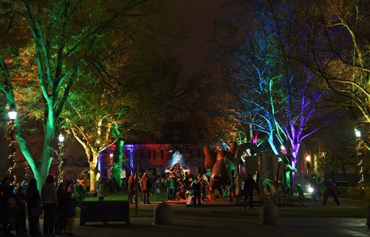 springfield museum lights