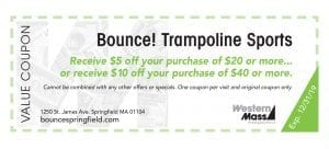 coupon book bounce trampoline