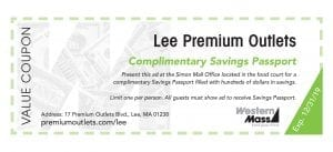 coupon book lee outlets
