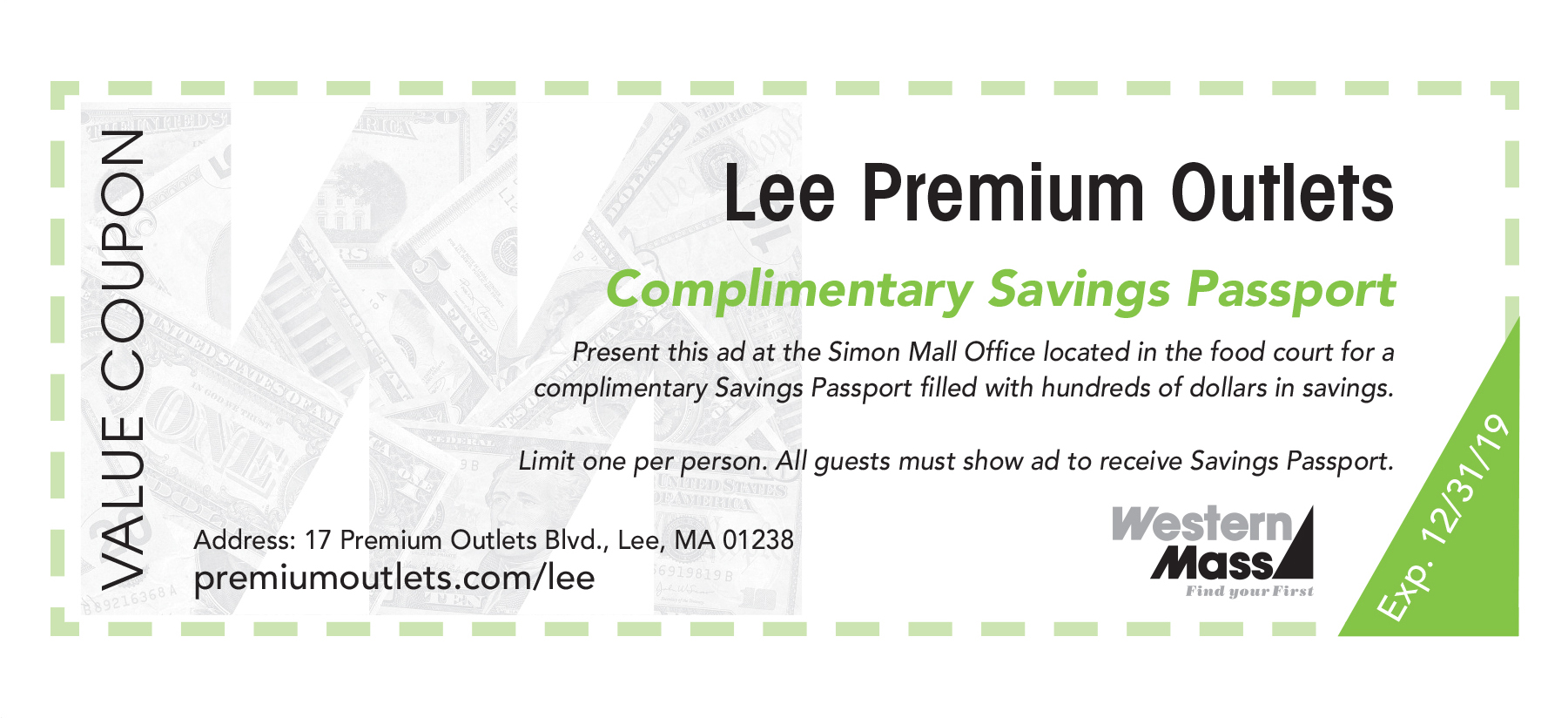 lee outlets coupon book