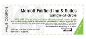 coupon book marriott fairfield