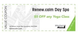 coupon book renew.calm yoga