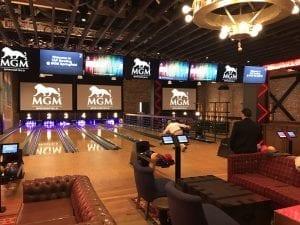 mgm bowling arcade