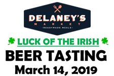 delaney beer tasting th