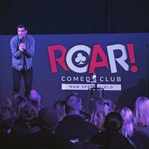 5g mgm roar comedy club