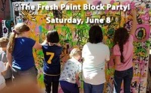 fresh paint block party
