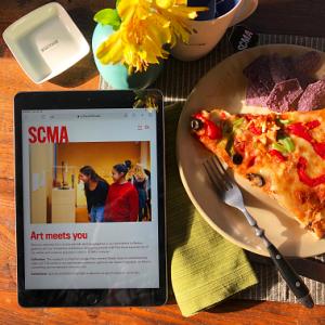 scma artsy lunch time