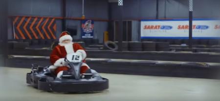 temp santa karting