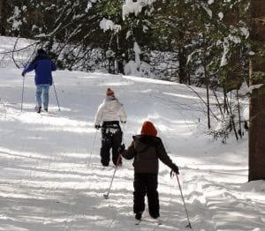 blog winter cross country skiing