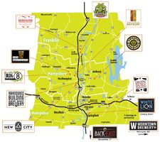 beer trail map th